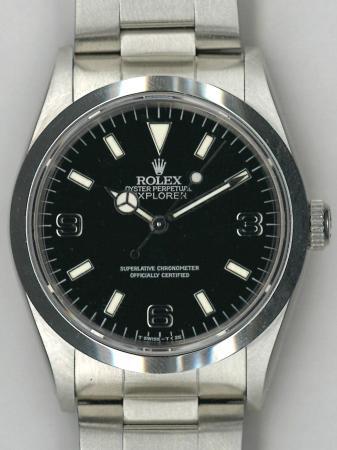sale retailer bd0e1 1e4e2 ロレックス エクスプローラー 14270の買取査定実績(ブラック ...
