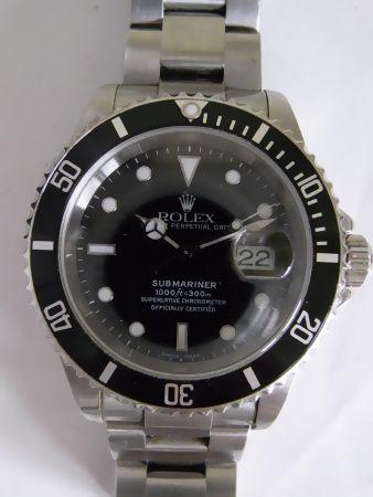 buy popular 5b7c8 6a994 ロレックス サブマリーナ 16610の買取査定実績(新型フラッシュ ...