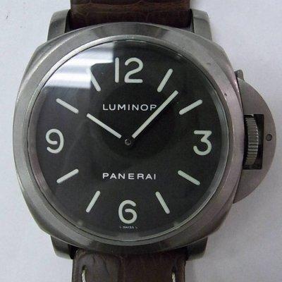 watch 37e2a e7d8f パネライ ルミノールベース PAM00055買取価格・相場 - カイトリマン