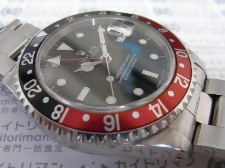 GMTマスター216710お買取実績詳細4