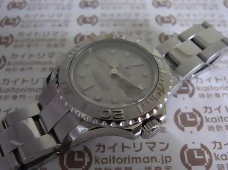 ヨットマスターロレジウム169622お買取実績詳細2